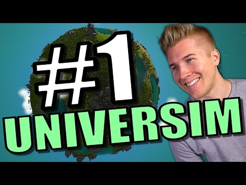 The Universim [NEW UPDATE Alpha 13 Gameplay] | Let's Play the Universim God Game: Part 1 |