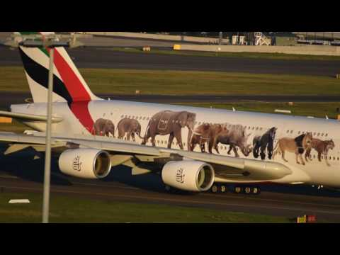 Spotting SYD (YSSY) Rydges Sydney Airport Rooftop 27 May 2017