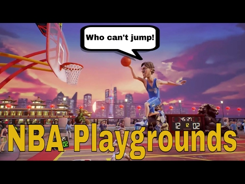 NBA Playgrounds Gameplay - I refuse to rage!!!