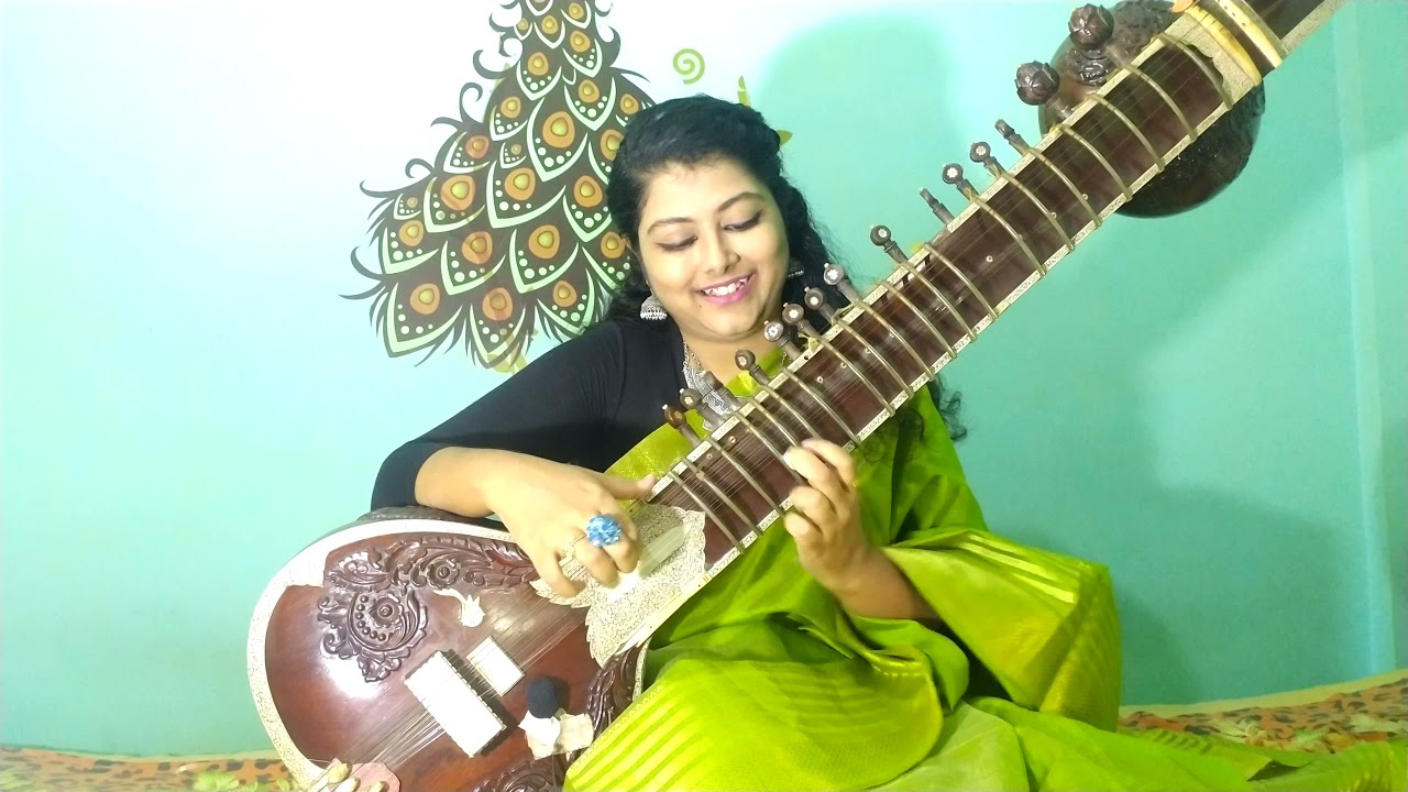 Download Pankh hote to ud aati re। sitar cover। Birthday Tribute to goddess of voice Lata Mangeshkar