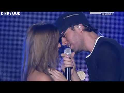 Enrique Iglesias  Hero , girls attack the stage