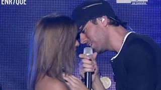 Cover images Enrique Iglesias - Hero LIVE, girls attack the stage!
