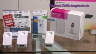 Video-Vorstellung Powerline für den Telekom Anschluss (DLAN)