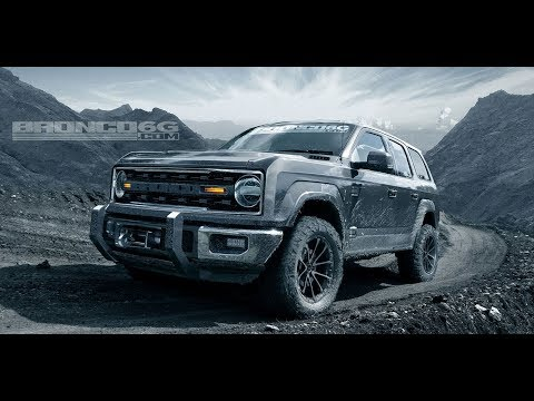 Ford Bronco  | All that we know | Ford Announcement Detroit