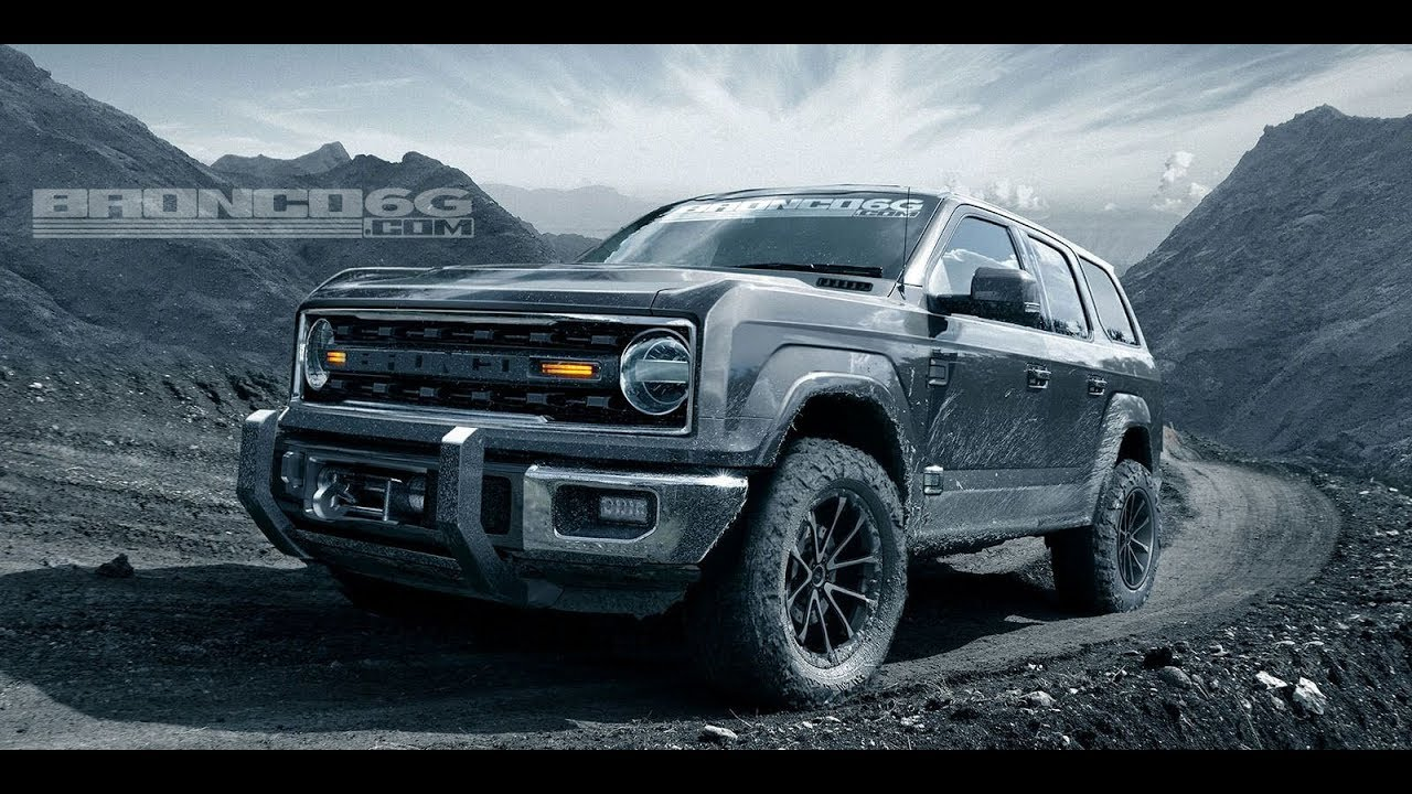 Ford Bronco 2020 | All that we know | Ford Announcement Detroit 2017 - YouTube