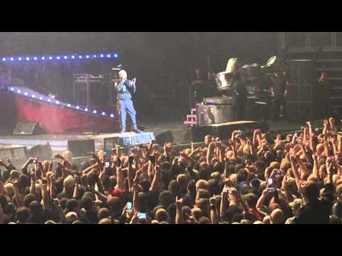 Slipknot Corey Taylor Talks To The Crowd Live In Sioux Falls Denny Sanford Arena 11-9-14