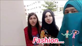 Fashion ka jalwa funny video in UOG by ATUtheLegends
