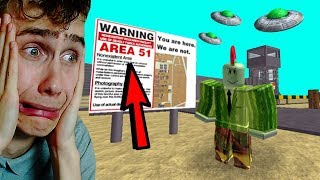ROBLOX AREA 51 ROLEPLAY!