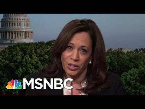 Sen. Kamala Harris: A.G. Barr Clearly Intended To Mislead The American Public | Hardball | MSNBC