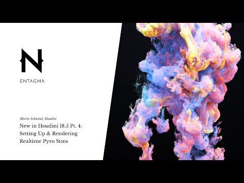 New in Houdini 18.5 Pt. 4: NanoVDB -- Setting Up & Rendering Realtime Pyro Sims