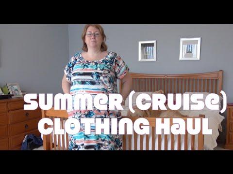 Plus Size Summercruise Clothing Haul Try On Youtube