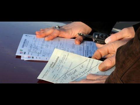 Enregistrement carte grise véhicule d'occasion