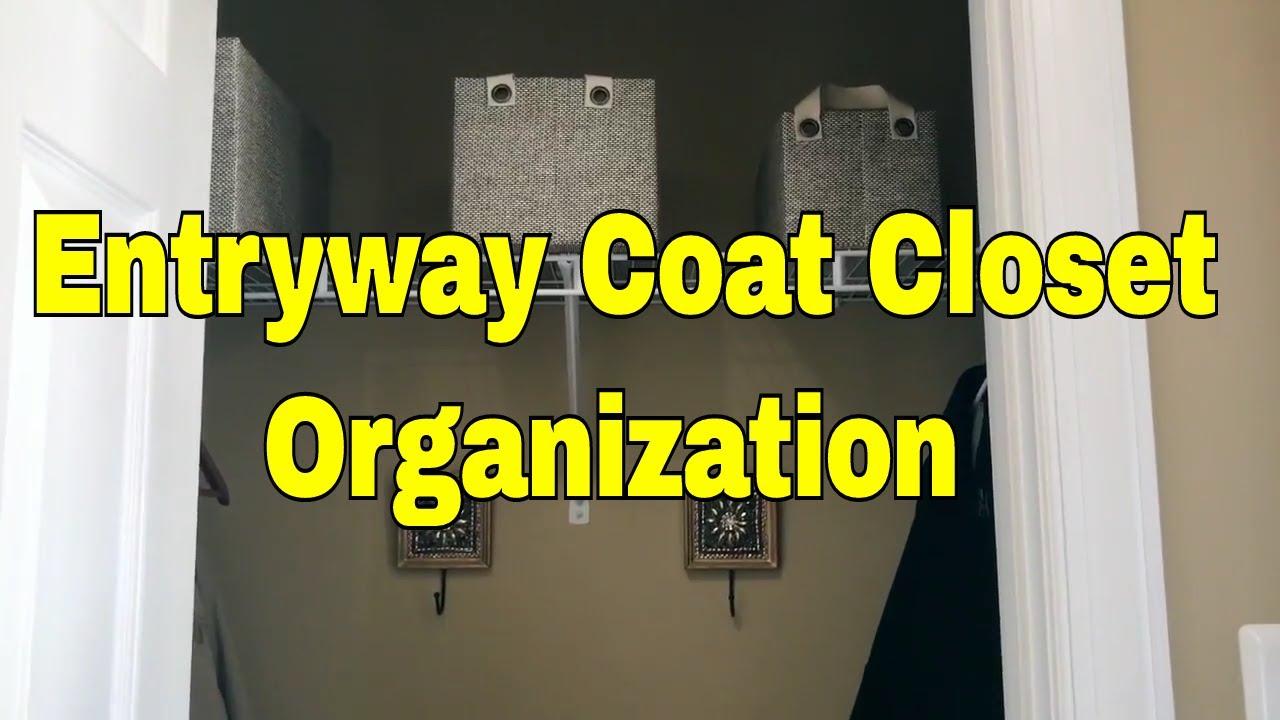 Entryway Coat Closet Organization / Amiu0027s Lifestyle