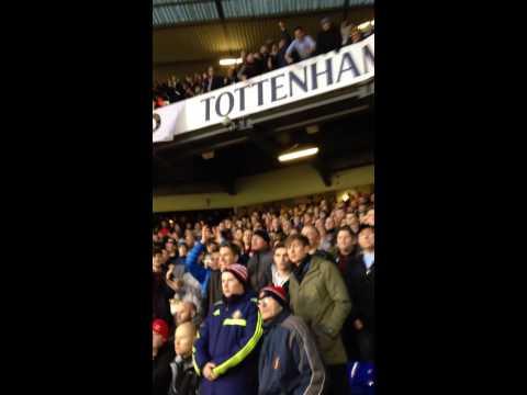 Sunderland fans at Spurs- Pantilimon!