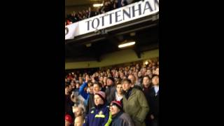 Sunderland fans at Spurs- Pantilimon!
