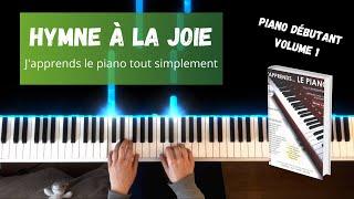 Hymne à la joie - J'apprends le piano tout simplement - Volume 1