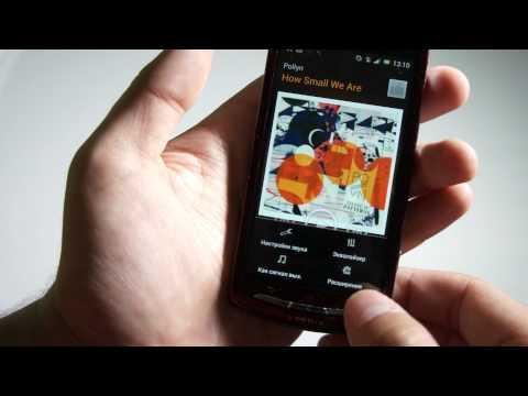 Видео Sony Ericsson Xperia Neo V (android ice cream sandwich 4.0.3)