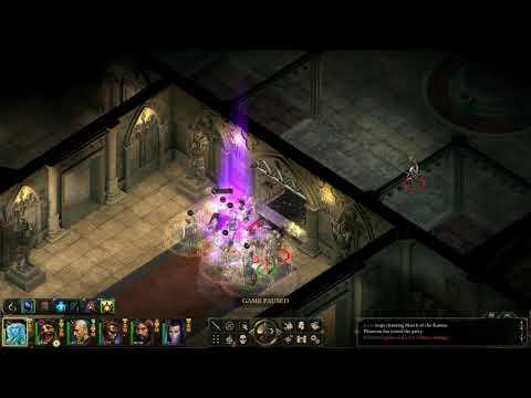 Pillars of Eternity Good Playthrough in Hard (HD) - Fountain Room |