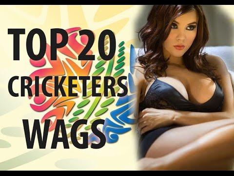 Top 20 cricketers Wives and Girlfriends (Sania Mirza, Anushka, Sakshi dhoni,