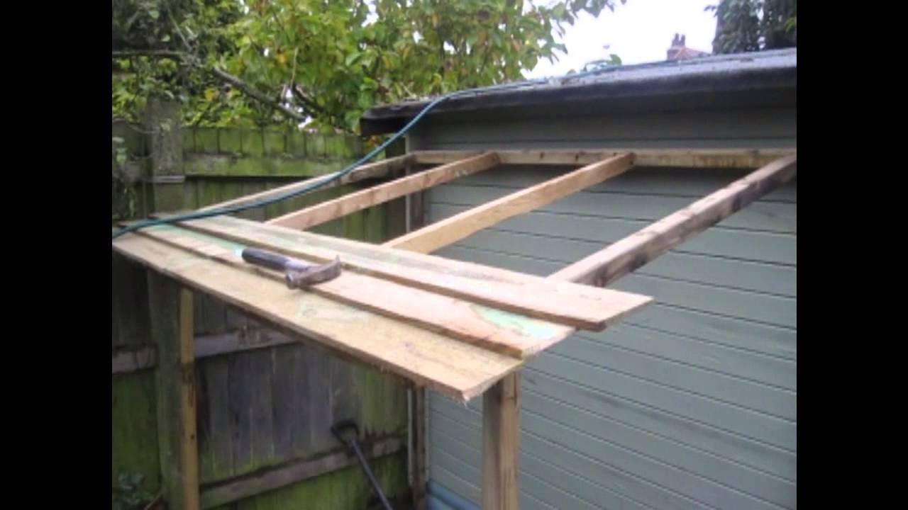 Norfolk Ralphs shed extension - YouTube