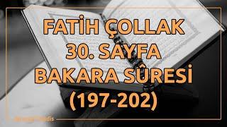 Fatih Çollak - 30.Sayfa - Bakara Suresi (197-202)