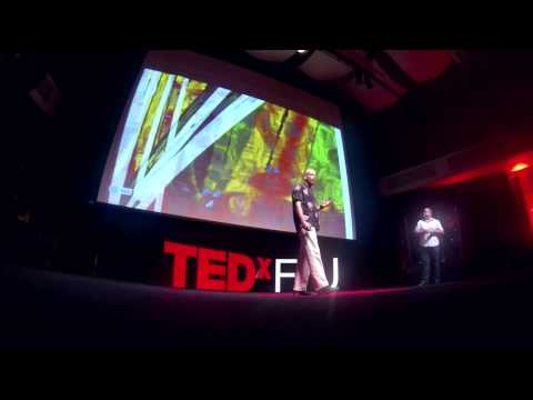 The art of the God particle: Xavier Cortada and Pete Markowitz at TEDxFIU
