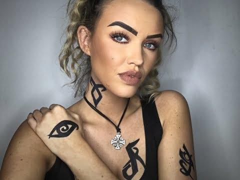 Shadowhunter Make Up and Tattoo Tutorial