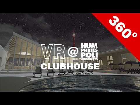 Shea Clubhouse - 360degree Render