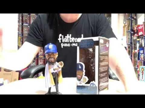 Bobble Sniper Youtube Episode #76 Los Angeles Dodgers Kenley Calrissian Star Wars Night Bobblehead