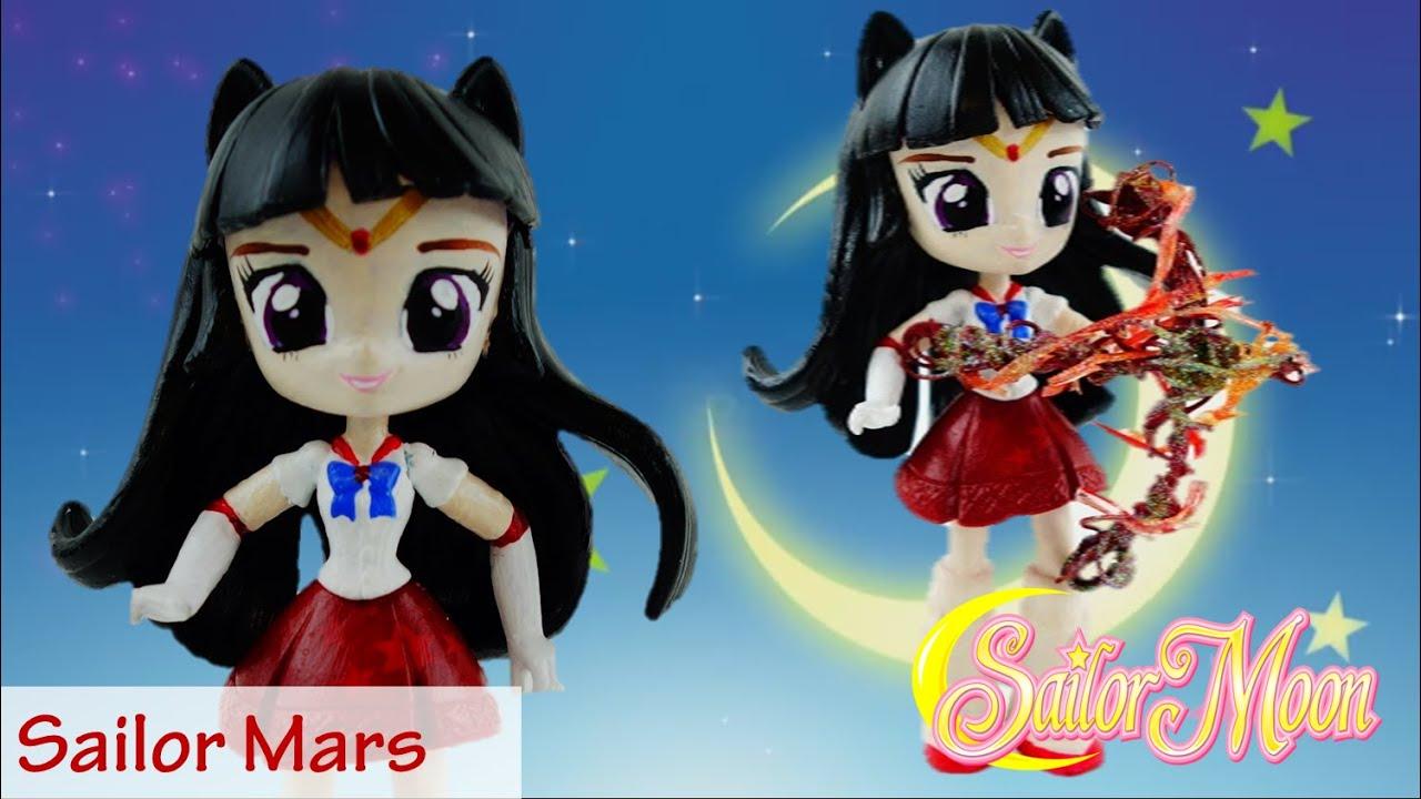 SAILOR MARS Sailor Moon Doll Custom With My Little Pony