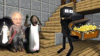 Monster School: ROBBERY GRANNY HORROR  - Minecraft Animation