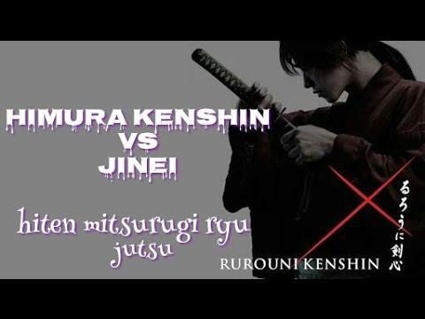 rurouni kenshin vs jinei | samurai x | movie 2012