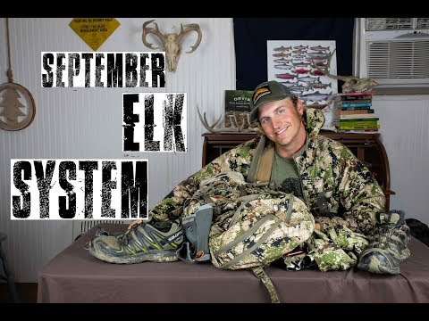 Elk Hunting Early Season System | The September Rut