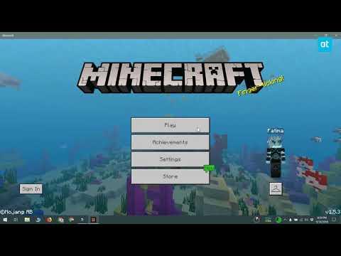Minecraft Tutorial World Seed