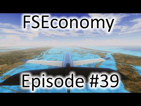 FSX   FSEconomy - Ep. #39 - It's Stormy In Houston   PC-12