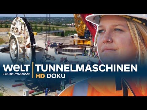 Tunnel-Maschinen für Stuttgart