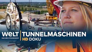 Tunnel-Maschinen für Stuttgart 21 - bohren, buddeln, sprengen | HD Doku