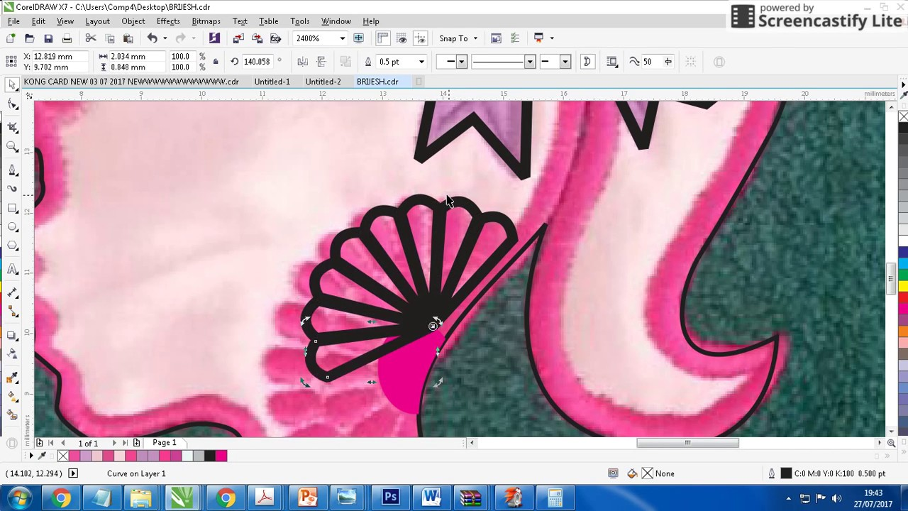 How To Create Embroidery Designs File In Coreldraw Professionally