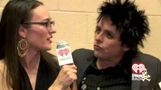 iHeartRadio Music Festival - Green Day interview