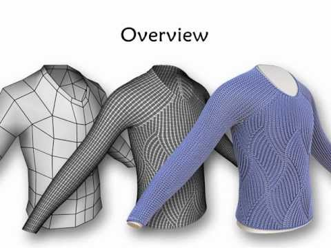 Strictly technical: simulating woolly sweaters in 3D