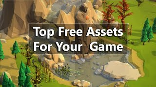 Top free Unity 3d assets Models for your game