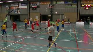 16 september 2017 Rivertrotters U22 vs BV Leiderdorp U22 68 61 4th period