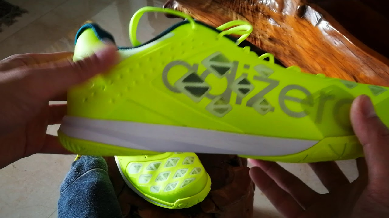 competitive price 82f81 939b7 Adidas Adizero Feather Badminton Shoe First Impression