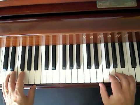 Blueberry Hill piano lesson for singers