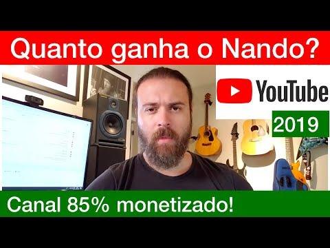 Quanto ganha atualmente NANDO MOURA no Youtube? Ele tem +85% do canal MONETIZADO!