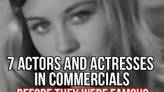 Compilation of Actors & Actresses in Commercials