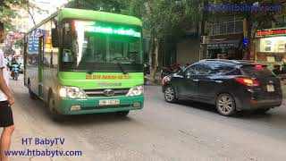 Xe Buýt Hà Nội 60A 🚌 Wheels On The Bus ❤ Nursery Rhymes Super Simple Song   HT BabyTV ✔︎