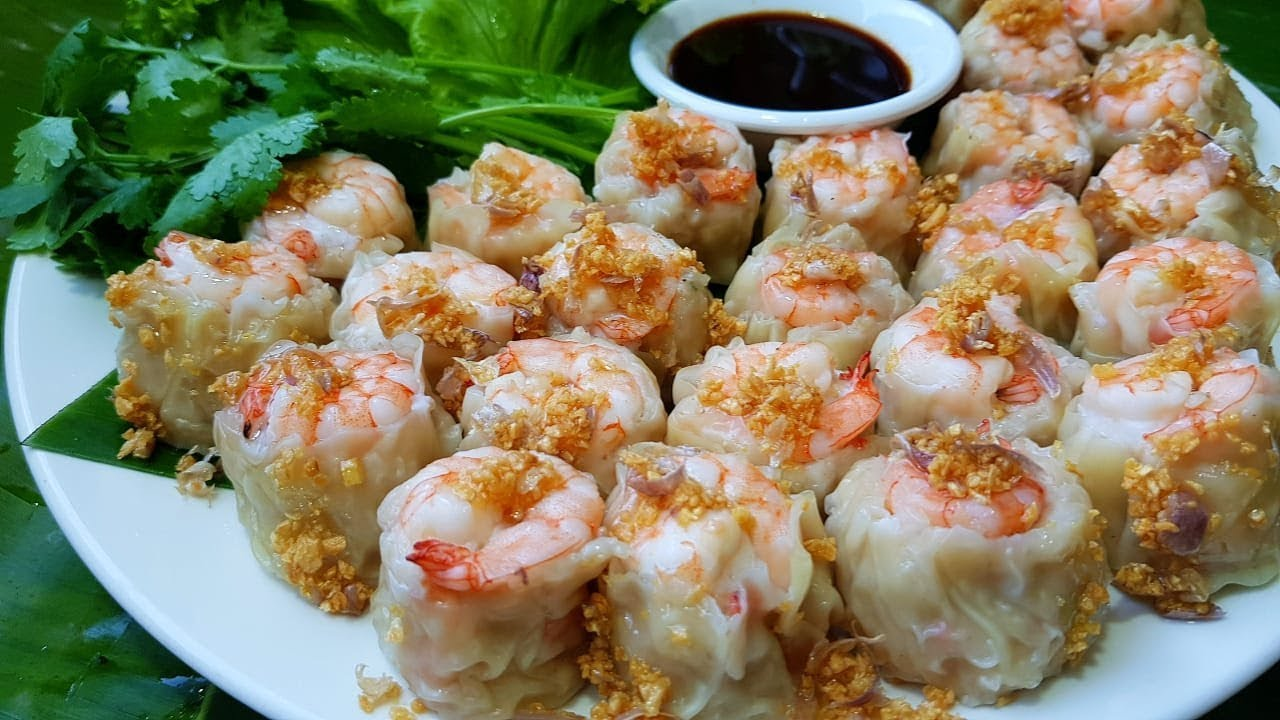 กับข้าวกับปลาโอ 504 : ขนมจีบโคตรกุ้ง กุ้งเน้นๆ เต็มคำ Shrimp Dumpling