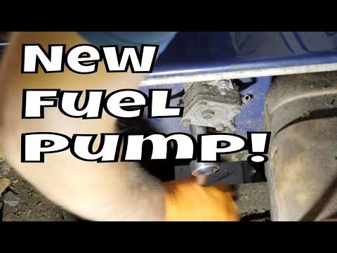 1999 Club Car DS, Gas - Clean Carb, Replace Fuel Pump