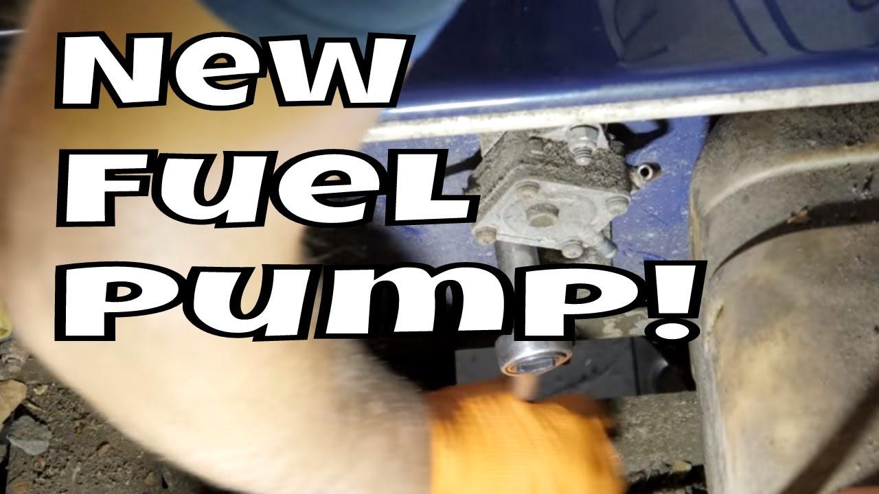 1999 club car ds gas clean carb replace fuel pump [ 1280 x 720 Pixel ]